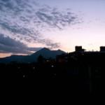 Sonnenuntergang auf Sizilien